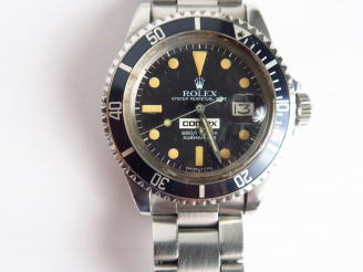 Vente aux enchères ROLEX Submariner 660ft=200m « COMEX 5023 » Ref. 1680. No. 5411294. Ver