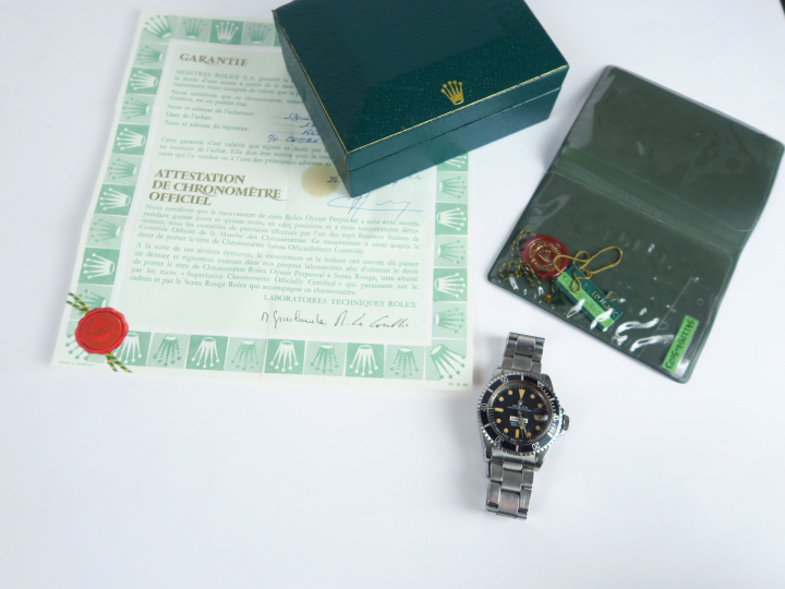 ROLEX Submariner 660ft=200m « COMEX 5023 » Ref. 1680. No. 5411294. Ver